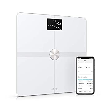 Image of Withings Body+ - Smart Body Composition Wi-Fi Digital Scale with smartphone app Health and Household