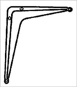 Bulk x 10: Ace Shelf Bracket (01-7520-323)