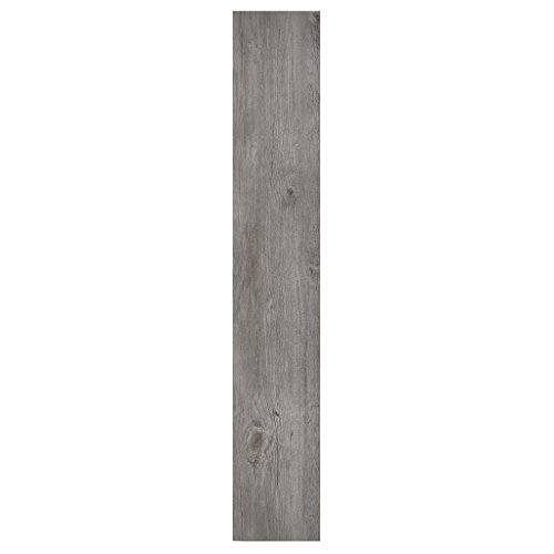 Achig #Achim Home Furnishings VFP1.2GO10 Achim Home Furnishings Nexus 1.2Mm Vinyl Floor Planks, 6 Inches x 36 Inches, Light Grey Oak,