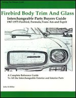 - Firebird Body Trim and Glass Interchangeable Parts Buyers Guide 1967-1975