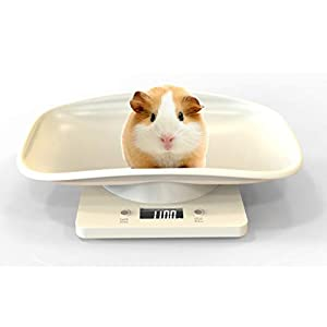 Aceshop Digital Pet Scale, Pet Weight Scale Mini Food Weight Scale with LCD Display, 4 Weighting Modes(oz/ml/lb/g) for…