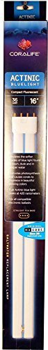 36-Watt, Compact Fluorescent Lamp for Use with Saltwater and Coral Reef (Coralife Salt)