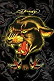 Ed Hardy Panther Poster