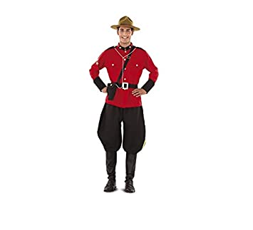 Disfraz de Policía Montada del Canadá para hombre talla M-L ...