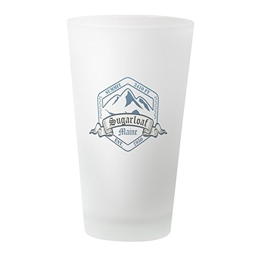 CafePress Sugarloaf Ski Resort Maine Pint Glass, 16 oz. Drinking ()
