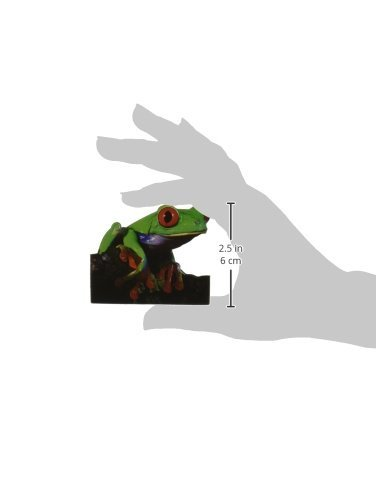 Red-Eyed Tree Frog 6-Pack Paper House Productions M-0017E Die Cut Refrigerator Magnet