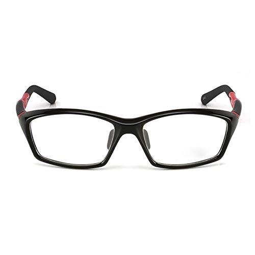 01ba200af4a SUMDA Men sports eyeglasses frames outdoor eyewear optical glasses frame RX  (Black)