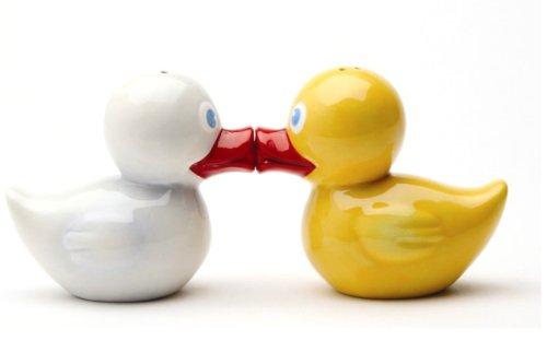 (Just Duckie Magnetic Salt & Pepper Shakers S/P)