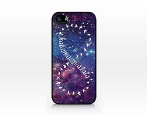CyberStyle(TM) TIP5-121 Hakuna matata infinite, Black case, 2D printed, iphone 5 5S case, Hard Plastic + Free Clear Screen Protector by runtopwell