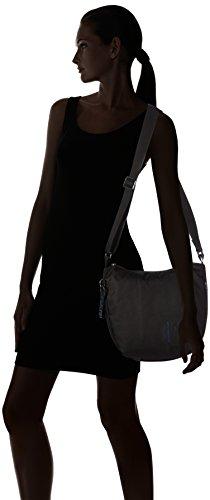 Shoppers Md20 Negro Nero y Duck bolsos de Mujer Tracolla hombro Mandarina TSqRw4OB