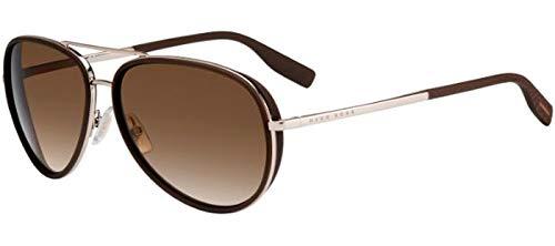 Sunglasses Boss Black 510 //N//S 03YG Lgh Gold//HA brown gradient lens