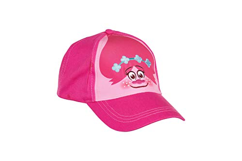 Accessory Supply DreamWorks Trolls Queen Poppy Pink Toddler Adjustable Baseball Cap, Age 2-5