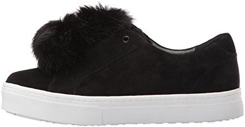 Sam Edelman Women's Leya Fashion Sneaker, Black, 7.5 M US
