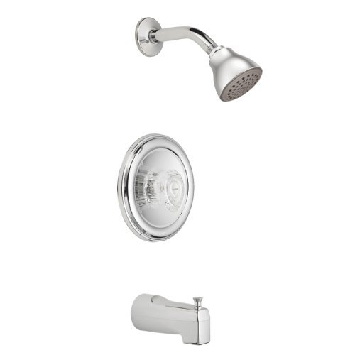 Moen 2363 Chateau Chrome Posi-Temp Tub and Shower Kit Chrome [並行輸入品]   B07F28TDNC
