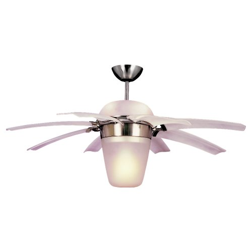 Monte Carlo 8ATR44BSD-L Airlift 44-Inch 8-Blade Ceiling Fan, Brushed Steel Finish, Appliances for Home