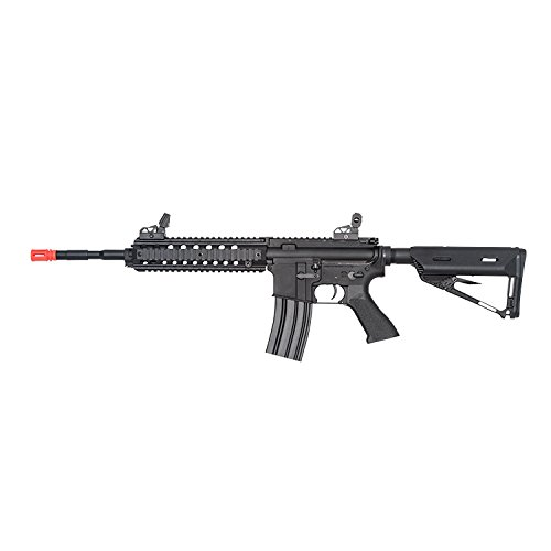 Valken Tactical AEG V2.0 Mod Battle Machine Airsoft Rifle, Black, Large by Valken Tactical