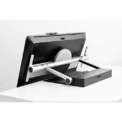 32 Zoll Grafik-Touch-Display mit 4K Aufl/ösung und integriertem Standfu/ß inkl Pro Pen 2 Stift mit verschiedenen Ersatzspitzen plus Ergo Stand schwarz Wacom Grafik-Display Cintiq Pro 32