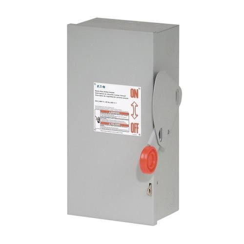 Eaton DH361NGK 4 Wire 3 Pole Fusible K Series Heavy-Duty Safety Switch 600 Volt AC 30 Amp NEMA 1