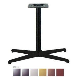 e-kanamono テーブル脚 コルサS3600 ベース520x310 パイプ60.5φ 受座240x240 基準色塗装 AJ付 高さ700mmまで 黒紛体塗装 B012CF1RYI 黒紛体塗装 黒紛体塗装