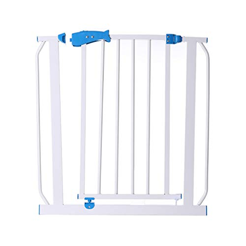GSHWJS Child Safety Door Pet Fence Protection Isolation Door Heightening Encryption Free Punching Height 72cm Baby Safety Fence (Size : 195-202cm)