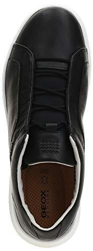Geox U Nexside, Men's Fashion Sneakers, Black (Black C9999), 42 EU