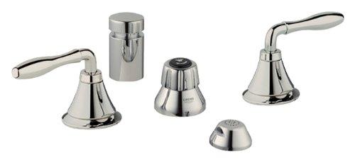 Grohe K24020-18732-BE0 Seabury Bidet Fitting Kit, Polished Nickel