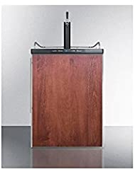Summit SBC635MBIFR Wine Dispenser, Brown