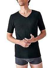 Damart T-shirt Col V Maille Interlock Thermolactyl Degré 3 Heren Hoog thermisch