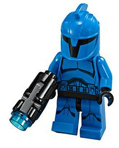 Lego Star Wars Senate Commando Trooper Minifigure.