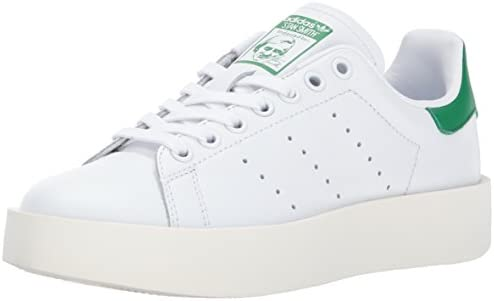 adidas Originals Stan Smith Bold Sneaker WhiteWhiteRed in