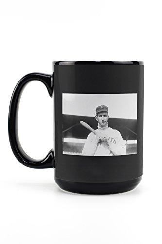 Leafs Maple Mug Travel Toronto (Bill Bradley, Toronto Maple Leafs, Baseball Photo (15oz Black Ceramic Mug - Dishwasher and Microwave Safe))
