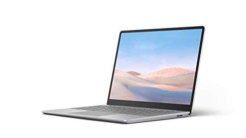 "Microsoft Surface Laptop Go Ultra-Thin 12.4"" Touchscreen Laptop (Platinum) – Intel 10th Gen Quad Core i5, 8GB RAM, 128GB…"