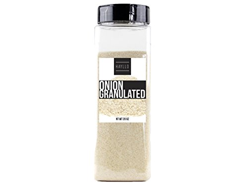 Hayllo Granulated Onion , 20 Ounce (20 Ounce Granules)