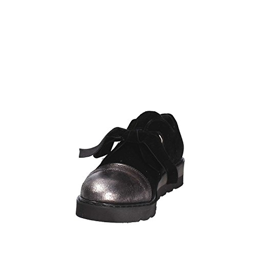 GRACE 0925 Femmes SHOES Noir Richelieus aaq0r
