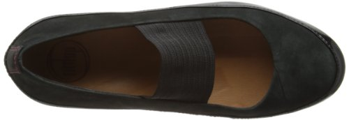 FITFLOP 314 DUE Bailarinas  Talla 40, Color NEGRO