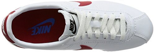 Blanco Mujer Red Cortez varsity Para varsity Royal Nike Classic Leather white 103 Zapatillas XxWBq8wYz1
