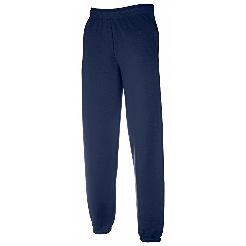 Fruit of the Loom Childrens/Kids Big Boys Jog Pants/Jogging Bottoms (12-13) (Navy)