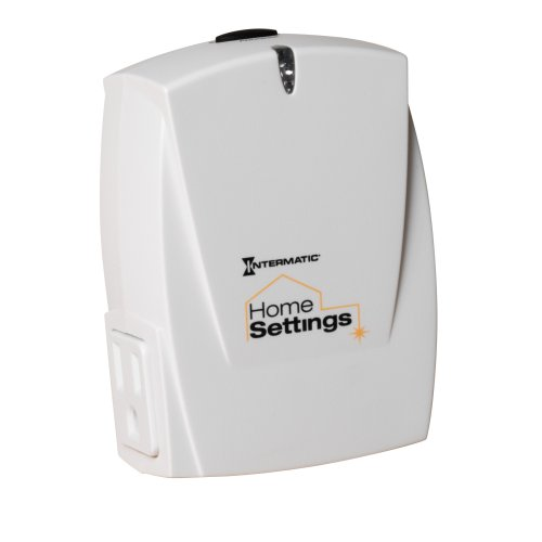 - Intermatic HA02C Home Settings Wireless Heavy-Duty Plug-In Appliance Module