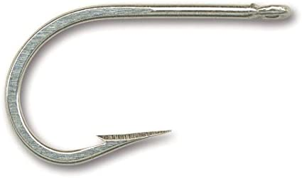 15pcs Fishing 7691S Stainless Steel Hook Size 8//0 Big Game Southern Tuna Hooks