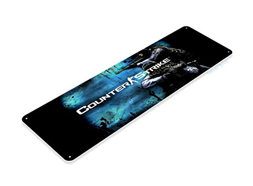Tinworld Tin Sign Arcade Counter Strike Pc Game Room Marquee Metal Sign Decor Retro A945