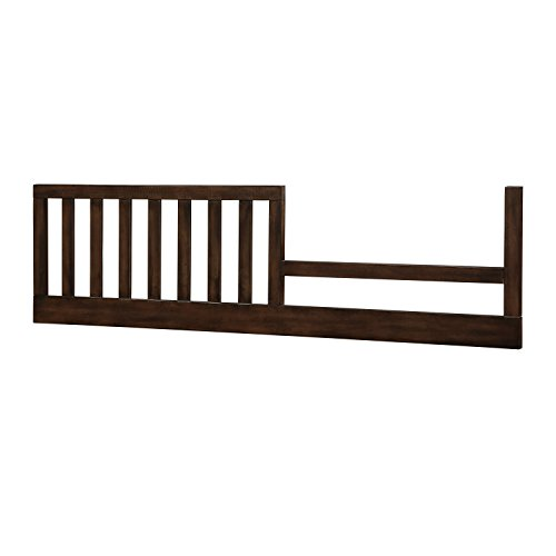 Dorel Living Bertini Baby Timber Lake Toddler Guard Rail, Dark Walnut by Dorel Living