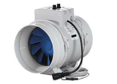 Blauberg turbo-e G1125–280M3/H mit Thermostat und Fahrregler