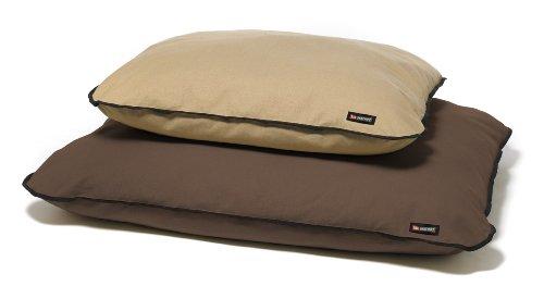 Big Shrimpy Basic Canvas Dog Bed, Large, Dark Brown, My Pet Supplies