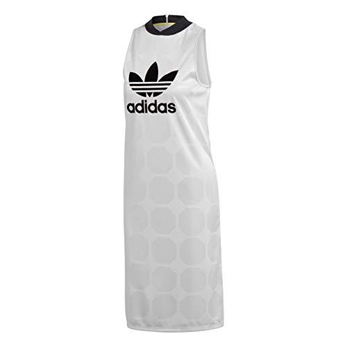 Femme Tank Blanc Adidas Robe 34 Fashion League Ce3722 rIwrqWHzc