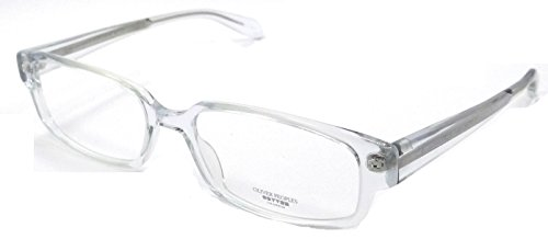 Oliver Peoples Rx Eyeglasses Frames Danver Cry 52x17 Crystal Made in - In Japan Glasses Made