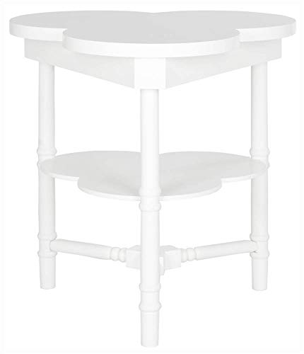 Safavieh American Homes Collection Clover White End Table