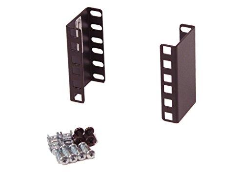 Iab102v10 2U Rackmount 2U Rack 2  Extender For 19  Or 23  Rack Cabinet   Wall Mount Cabinet  1 Pair