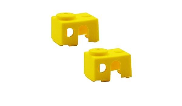 Gazechimp 2Pcs Impresora 3D Parte V6 Calcetines De Silicona Funda ...