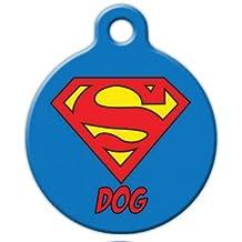 Superman Dog ID Tag Medium