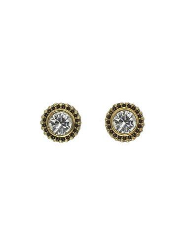 Pilgrim 561-923 Ohrring, vergoldet, kristall
